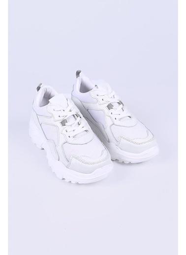 Female Project Sneakers Beyaz
